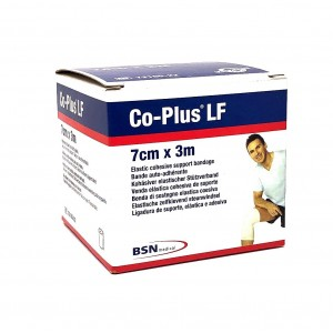 Co-Plus 7cm x 3m Blanc -...