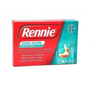 Rennie Menthe Verte Sans...