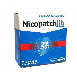 Nicopatchlib 21mg/24h - 28...