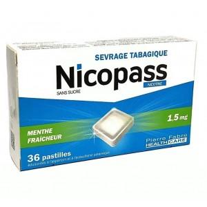 Nicopass 1.5mg Menthe...
