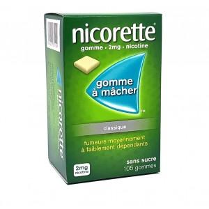Nicorette 2mg Classique -...