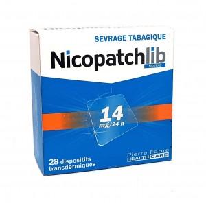 Nicopatchlib 14mg/24h - 28...