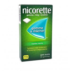 Nicorette 4mg Menthe...