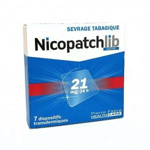 Nicopatchlib 21mg/ 24h - 7...