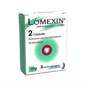 Lomexin 600 mg - 2 Capsules...