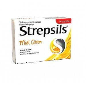 Strepsils Miel Citron - 36...