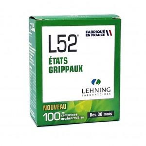 L52 Lehning - 100 Comprimés...