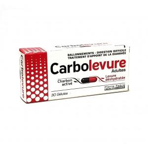 Carbolevure - 30 Gélules