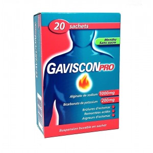 GavisconPro Menthe - 20...