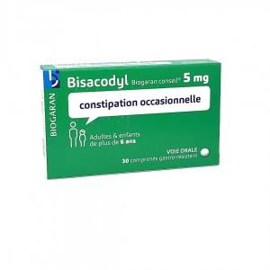 Bisacodyl 5 mg - 30 Comprimés
