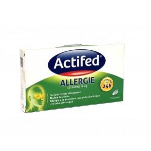 Actifed Allergie 10 mg - 7...