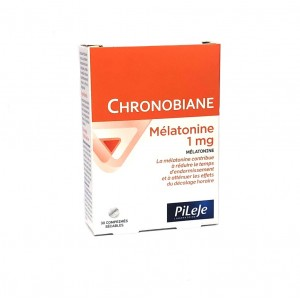 Chronobiane Mélatonine 1mg...