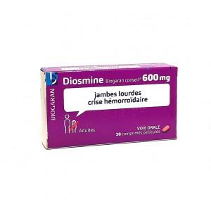 Diosmine 600mg Biogaran -...