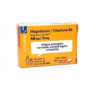 Magnésium / Vitamine B6 48...