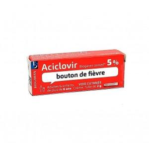 Aciclovir 5 % Crème -...