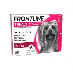 Frontline Tri-Act Chien 2 à...