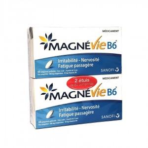 MagnéVie B6 - 60 Comprimés x2
