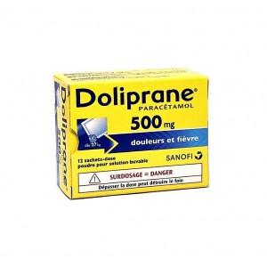 Doliprane 500 mg - 12 Sachets