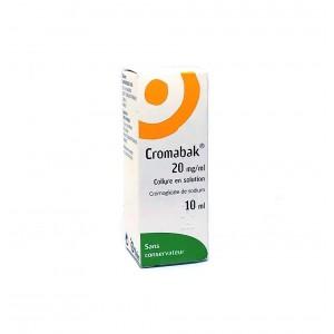 Cromabak 2% - Collyre en...