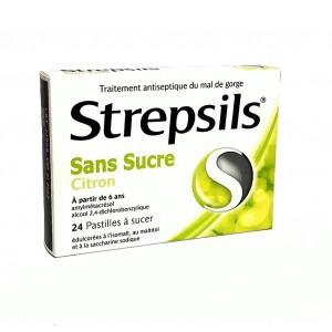 Strepsils Citron Sans Sucre...