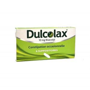 Dulcolax - 6 Suppositoires