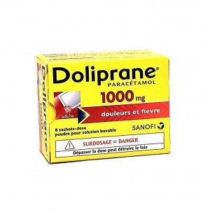 Doliprane 1000 mg - 8 Sachets