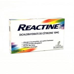 Reactine - 7 Comprimés