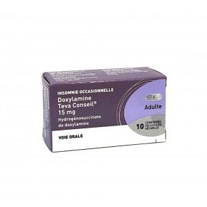 Doxylamine 15 mg Teva - 10...