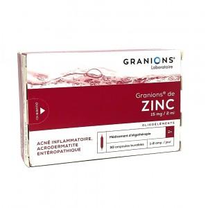 Granions de Zinc - 30 Ampoules