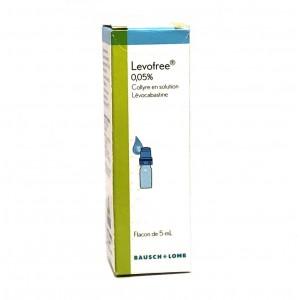 Levofree 0.05% Collyre - 5 ml
