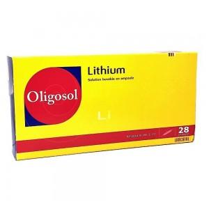 Oligosol Lithium - 28 Ampoules