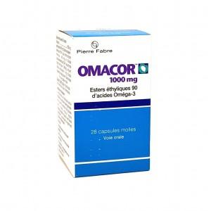 Omacor 1000 mg - 28 Capsules