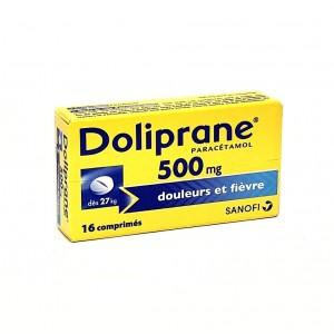 Doliprane 500 mg - 16...