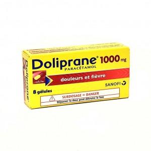 Doliprane 1000 mg - 8 Gélules