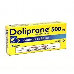 Doliprane 500 mg - 16 Gélules