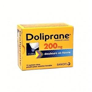 Doliprane 200 mg - 12 Sachets
