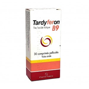 Tardyferon B9 - 30 Comprimés