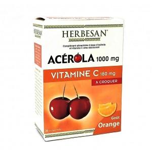 Acérola 1000 mg Vitamine C...