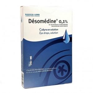 Désomédine 0,1% Collyre -...