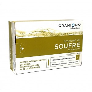 Granions de Soufre - 30...